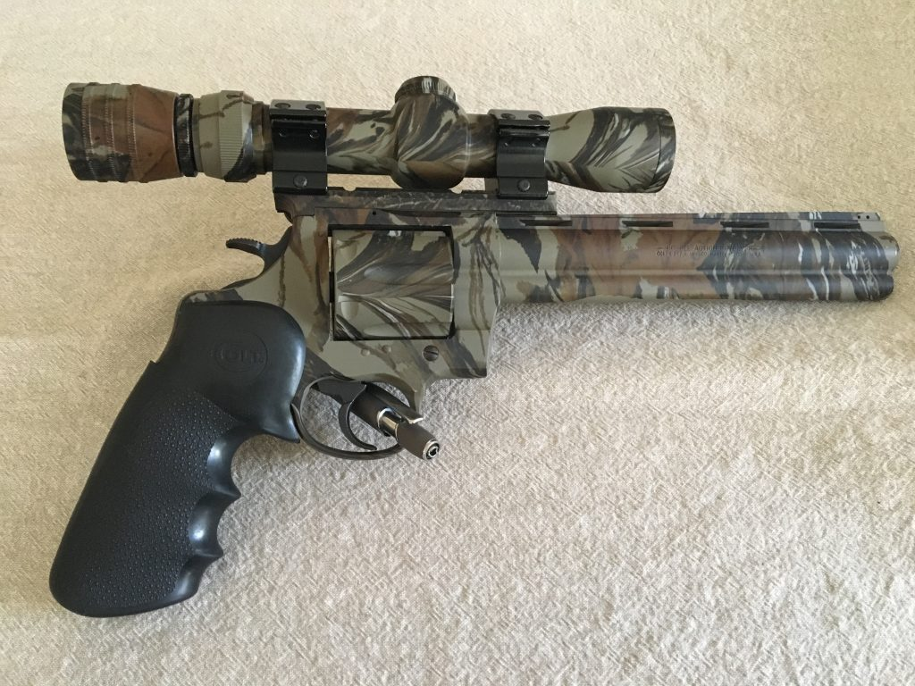 Colt Anaconda with Realtree Camo Finish - Blue Cord Firearms